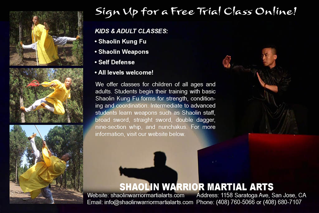 Shaolin Warrior Martial Arts Kung Fu School