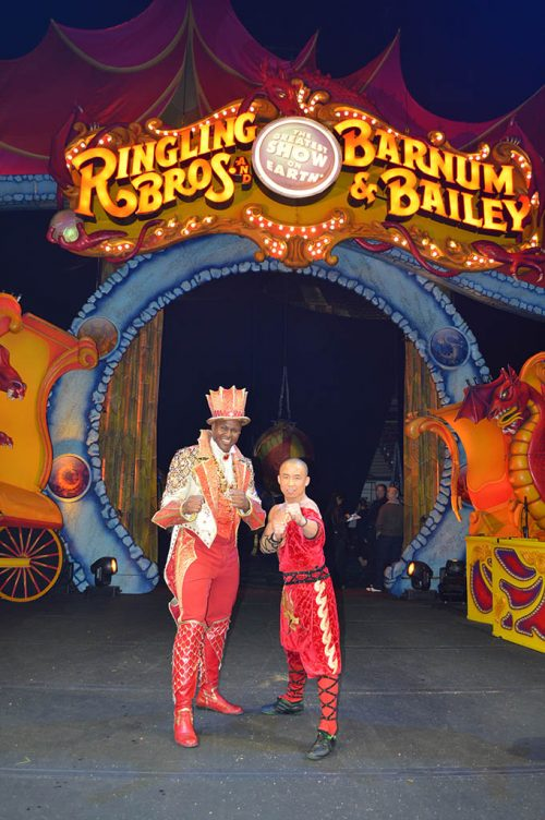 Ringling Bros Performance