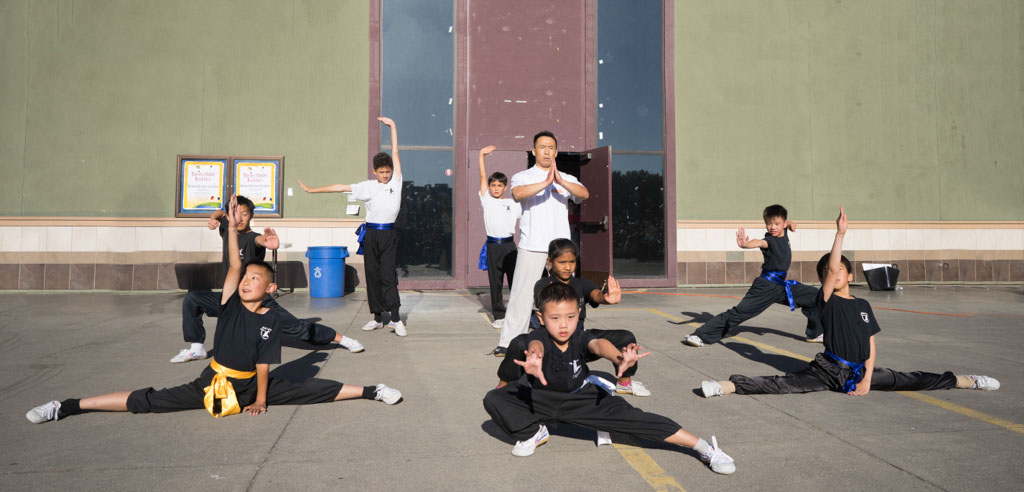 San Jose Kung Fu School Performance