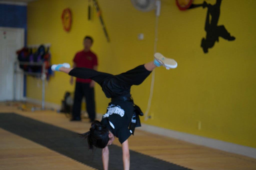 Kids Kung Fu Class, Cartwheel