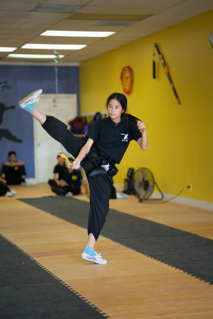 Kids Kung Fu Class, Nine-section whip