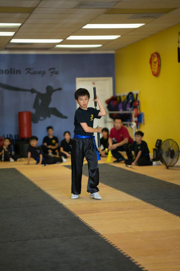 Kids Kung Fu Class, Nunchakus
