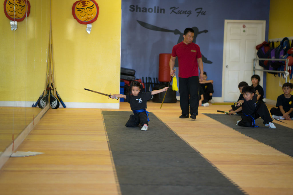 Kids Kung Fu Class, Straight Sword