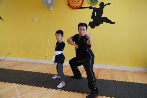 Kung Fu Belt Test