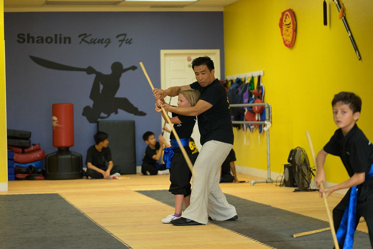 Shaolin staff