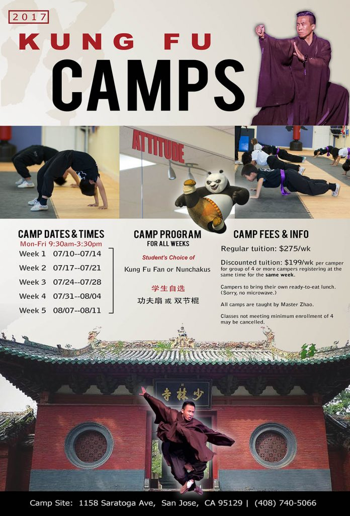 Kung Fu Summer Camp
