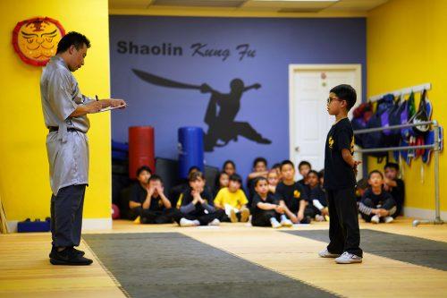 Kung Fu School Student