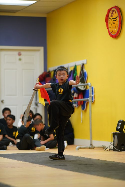 Martial Arts School Student