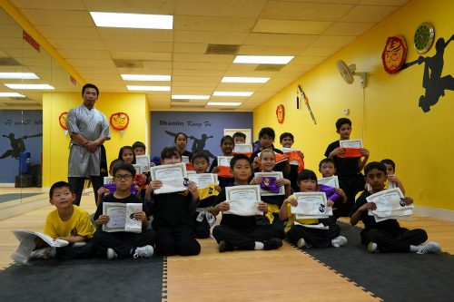 San Jose Kung Fu School Students