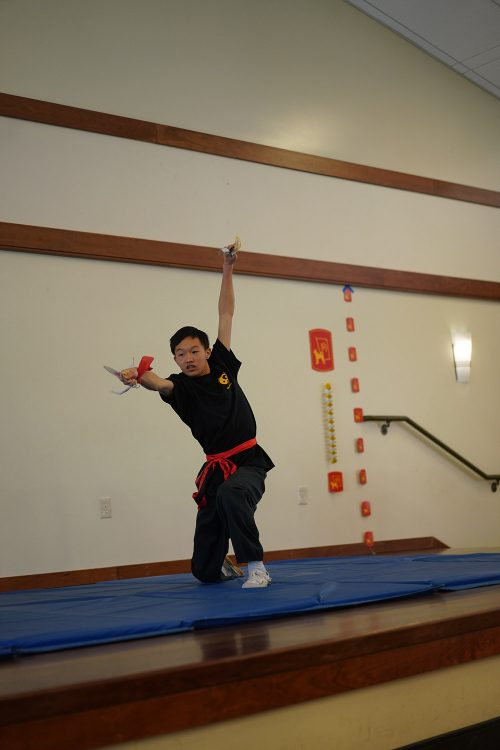 Kung Fu Performance, Campbell